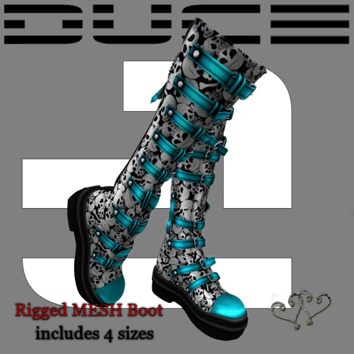 Skull Candy Boot blue